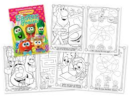 dayspring u2013 veggietales activity and coloring books trent design
