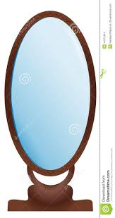 Large Mirror Large Mirror Stock Vector Image 44573394