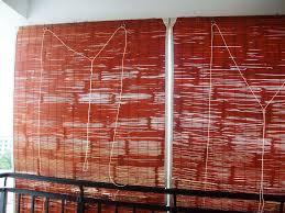 Burnt Bamboo Roll Up Blinds by Best Outdoor Bamboo Shades Ideas U2014 Jen U0026 Joes Design