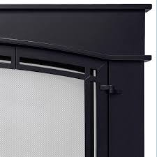 pleasant hearth fieldcrest black extra small fireplace doors fc