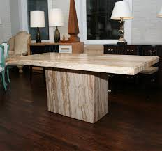 magnificent tables fancy dining room modern table on travertine