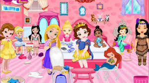 enjoy with baby princess room cleaning gameplay baby cleaning