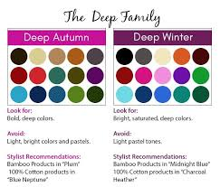 best hair color for deep winters 9 best pca seasonal color families images on pinterest head