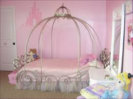 bedroom disney princess carriage bed canopy princess sleigh bed