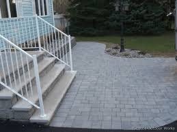 Composite Patio Pavers by Paver Patios Nj Paver Driveways Nj