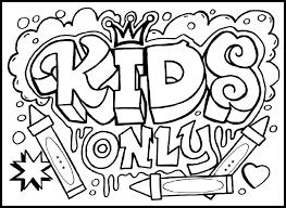 graffiti monster colouring pages 3 kleurplaat