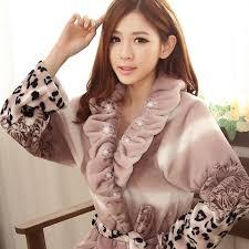 robe de chambre chaude pour femme femmes robe chambre hiver chaud vaut le coup