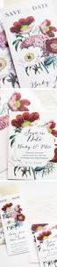 garden wedding invitation ideas 73 best save the dates images on pinterest marriage crafts and