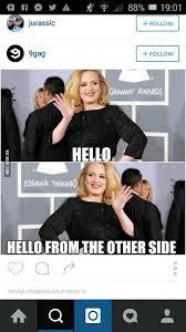Adele Memes - 25 b磴sta adele hello meme id礬erna p礇 pinterest rolig disney