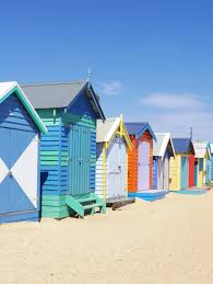 kaori square feet the bathing boxes by the beach at brighton