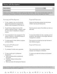 nanny resume template nannyesume cover letters templatesadiodigital co sterile technician