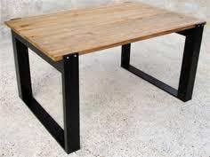 bureau bois acier table design nowmad