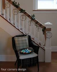 Banister Clips Best 25 Banister Christmas Decorations Ideas On Pinterest