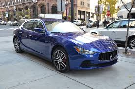 blue maserati ghibli 2017 maserati ghibli sq4 s q4 stock m540 for sale near chicago