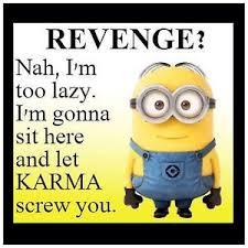 Revenge Memes - minions meme revenge karma 4 x4 flexible fridge magnet ebay