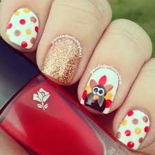 26 thanksgiving nail design ideas you can wear all fall