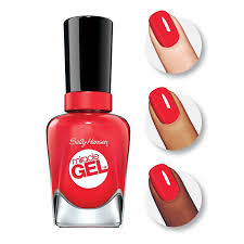 amazon com sally hansen miracle gel nail color poppy patch 0 5