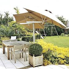offset sun umbrella best outdoor patio furniture for umbrellas Best Patio Umbrella For Shade