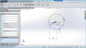 edit sketch pattern in solidworks circular sketch pattern in solidworks t 30 youtube