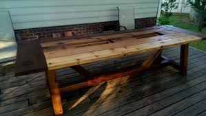 diy outdoor dining table 8 best dining room furniture sets
