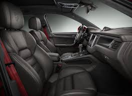 porsche macan 2016 interior porsche macan turbo painted in impulse red metallic is eye candy