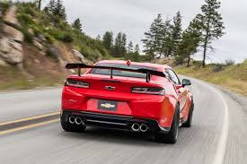 what car company makes camaros 2018 chevrolet camaro zl1 1le test review motor trend