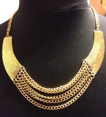 statement chain necklace images Jewels gold necklace statement necklace gold statement necklace jpg