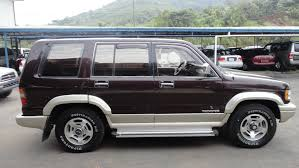 isuzu trooper obtaining a comfort driving feel