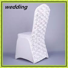 factory price rosette chair cover spandex cheap cover chair china