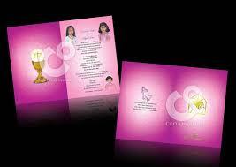Invitation Card For Holy Communion C U0026 O Ad Ventures First Holy Communion Invitation Card Design
