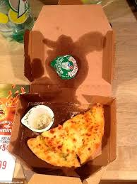 domino s pizza order arrives half eaten by staff daily mail