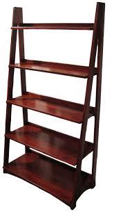 Bookshelves Cherry - furniture wooden ladder shelving units for your inspirations