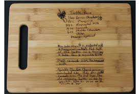 recipe engraved cutting board personalized gifts ideas for personalized christmas gifts