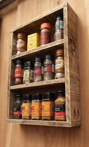 Wooden Shelves Pics by The 25 Best Spice Racks Ideas On Pinterest Kitchen Spice Racks