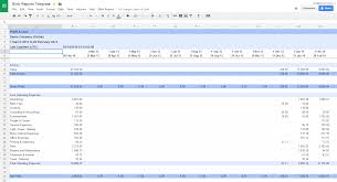 Sales And Expenses Spreadsheet Overview Blink Reports And Dashboards For Xero