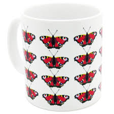 Peacock Mug Robert William British Butterflies Peacock Mug Edu Sci Space