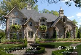 chateau lafayette house plan house plans by garrell associates inc
