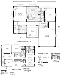 2 story home plans sophisticated 2 story house plans with master on floor images
