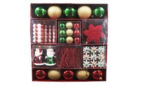 50pc shatterproof ornament set 11 84 orig 60 free at
