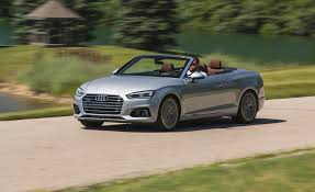 lexus convertible models 2018 2018 audi a5 cabriolet test review car and driver
