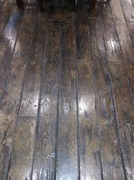 Tile That Looks Like Hardwood Floors Basement Refinished With Concrete Wood Ardmore Pa Rustic