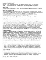 Field Engineer Resume Sample by Chronological Field Service Engineer Resume Template