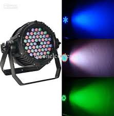 professional lighting 3w x 54 waterproof rgbw led par can light disco and dj light stage effect lights waterproof par can led par can disco dj lights