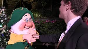 tommy meets the seven dwarfs at the very merry christmas party at