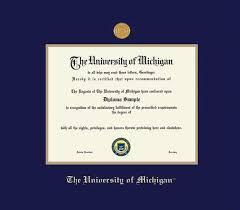 of michigan diploma frame custom diploma frames certificate frames framing success u