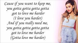 arian love com ariana grande feat the weeknd love me harder with lyrics youtube