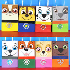 favor bag paw patrol favor bags