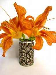 Tin Flower Vases Crafts Make Decorative Vases From Tin Cans