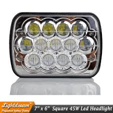kenworth factory aliexpress com buy 7x6 led headlight h4 sealed beam with blue