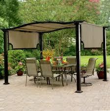 garden freestanding pergola with canopy garden treasures